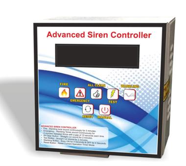 Advanced Siren Controller
